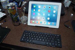 iPad用キーボード購入