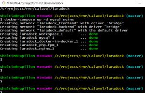laravelの開発環境をDockerで構築する