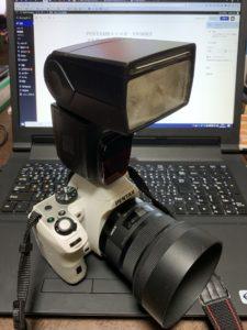 PENTAX用ストロボ YN585EX-Pを買いました