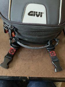 790Dukeさんのシートバッグ取り付け改善