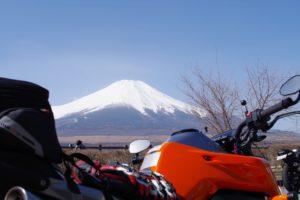 道志道と山中湖へ