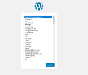 Docker-composeでローカルにWordPress環境を作成する