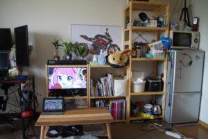 部屋の模様替え&テレビなし生活へ